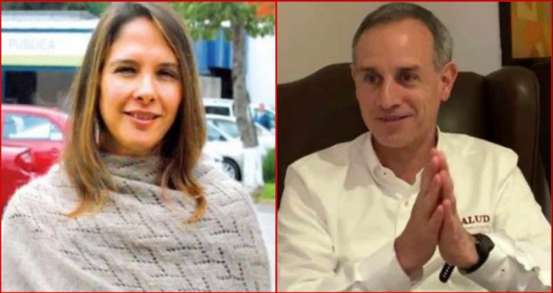 Quién es la esposa de Hugo López-Gatell?