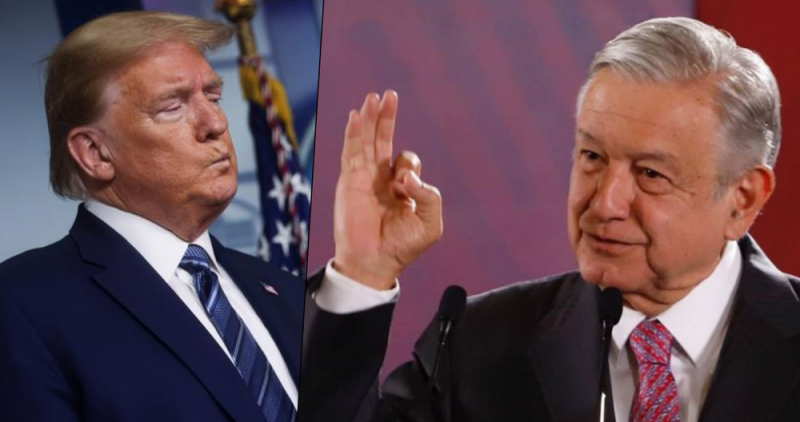 Trump ELOGIA a AMLO y dice que PRONTO lo recibirá en WASHINGTON