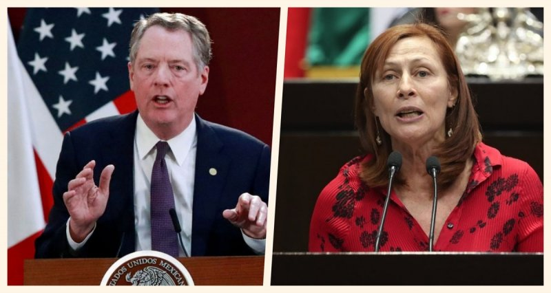 Pide Lighthizer agradecer a AMLO en encuentro con Tatiana Clouthier